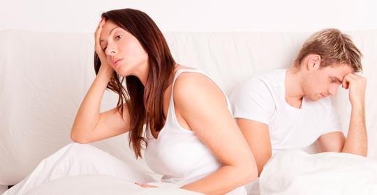 Mujeres y hombres: El dolor durante el coito no es normal.  ¡Consulta con un especialista!